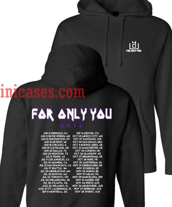 4OU 2016 Tour Hoodie pullover