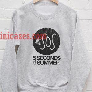 5 sos logo Sweatshirt