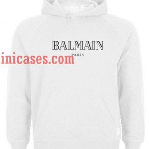 Balmain Paris Hoodie pullover