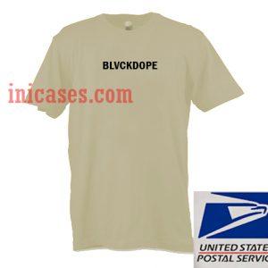 Blvckdope T shirt