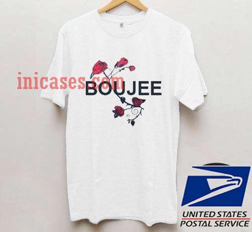 Boujee Flower T shirt