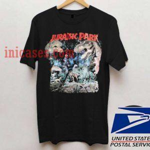 Distressed Jurassic Park T shirt