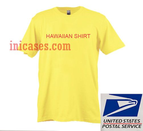 Hawaiian Yellow T shirt