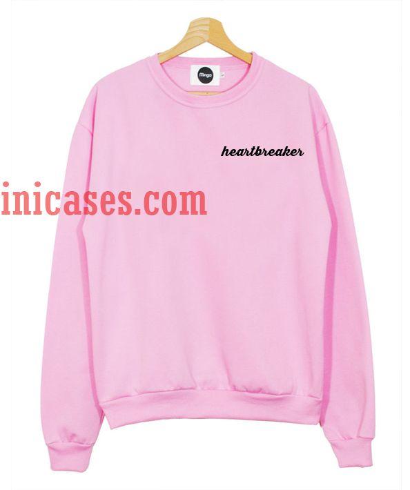 Heartbreaker pink Sweatshirt