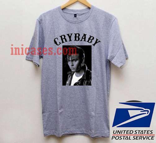 Johny Depp Cry Baby T shirt