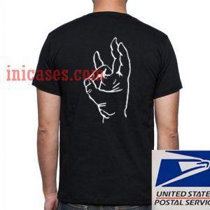 Pinch Hand Symbol T shirt