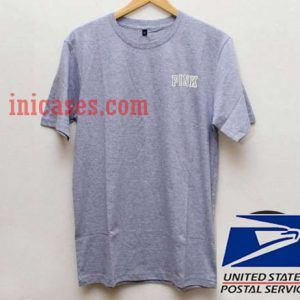 Pink Grey T shirt