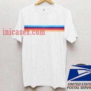 Retro Rainbow T shirt