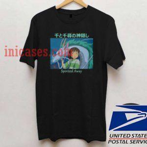Spirited Away Haku And Chihiro T shirt