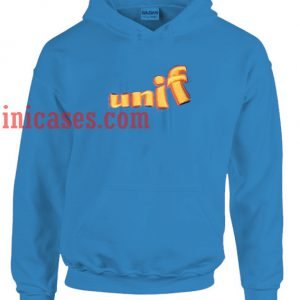 Unif Blue Hoodie pullover