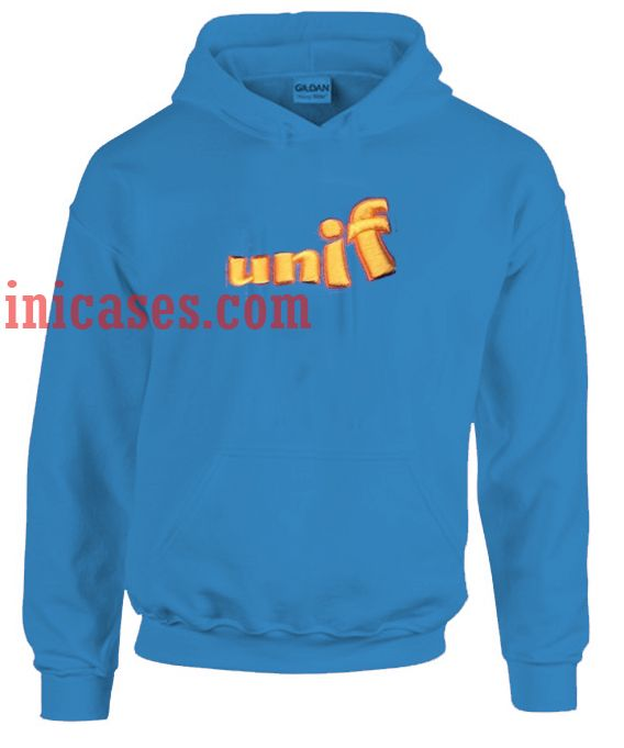 Unif Blue Hoodie pullover