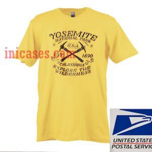 Yosemite National Park USA T shirt