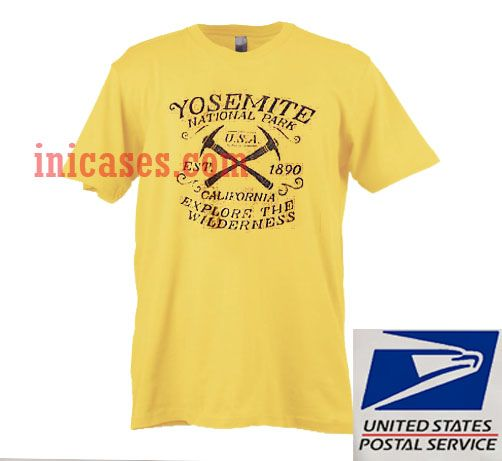 Yosemite National Park USA T shirt