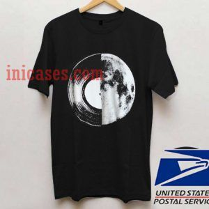half moon record album T shirt