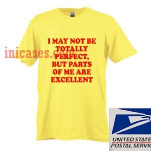 i may not be totally perfect but parts of me are excellent T shirt