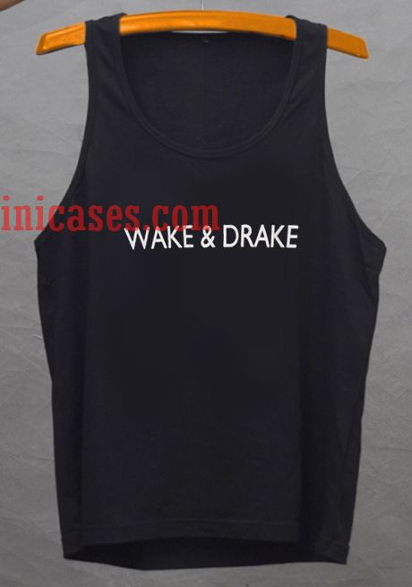 wake and drake tank top unisex