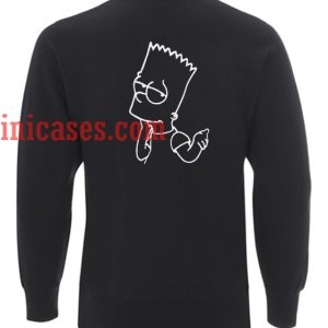 Bart Simps Back Sweatshirt