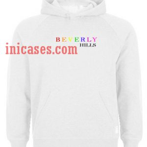Beverly Hills colour Hoodie pullover