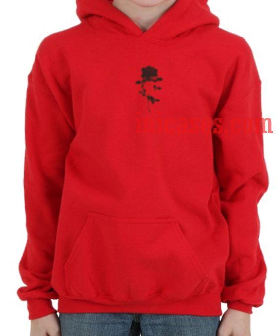 Black Rose Red Hoodie pullover