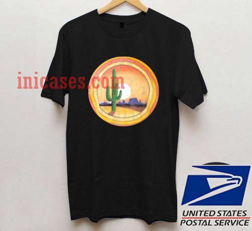 Cactus Sunset T shirt