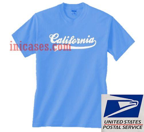 California Blue T shirt