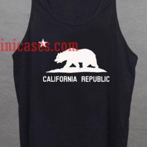 California Republic tank top unisex