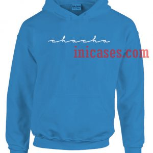Chacha The Wave Blue Hoodie Pullover