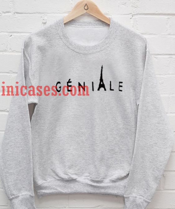 Geniale Paris Sweatshirt