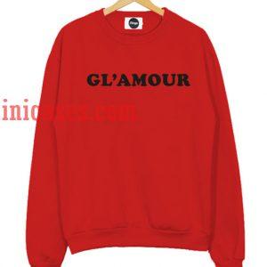 Glamour Red Sweatshirt