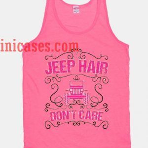 Jeep Hair Dont Care tank top unisex
