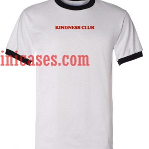 Kindness Club ringer t shirt
