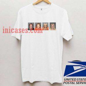 Lohan Mugshot T shirt