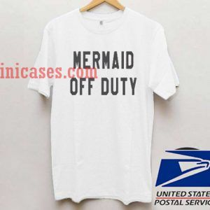 Mermaid Off Duty logo T shirt