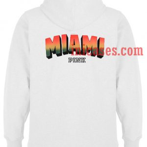 Miami Pink Hoodie pullover