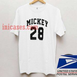 Mickey 28 Front T shirt