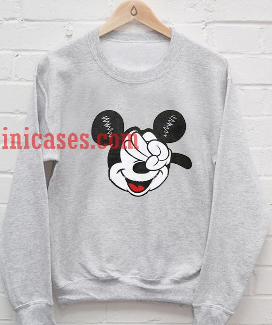 Mickey Mouse Peace Sweatshirt for Men And Women