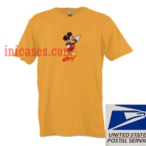 Mickey Mouse Yellow T shirt