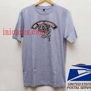 Not Your Princess Flower Grey T shirt