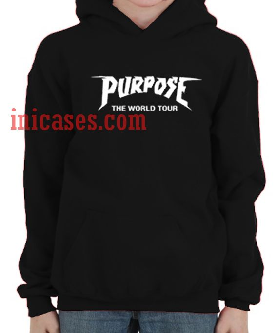 Purpose the world tour Hoodie pullover