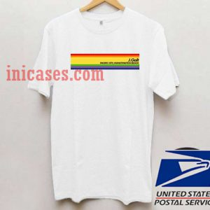 RAINBOW John Galt Distressed T shirt
