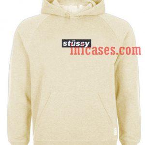 Stussy Box Logo Hoodie pullover