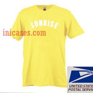 Sunrise Yellow T shirt