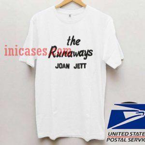 The Runaways Joan Jett T shirt