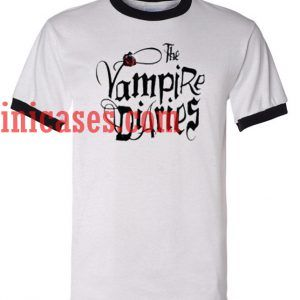 The Vampire Diaries ringer t shirt