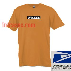 Wicked Brown T shirt