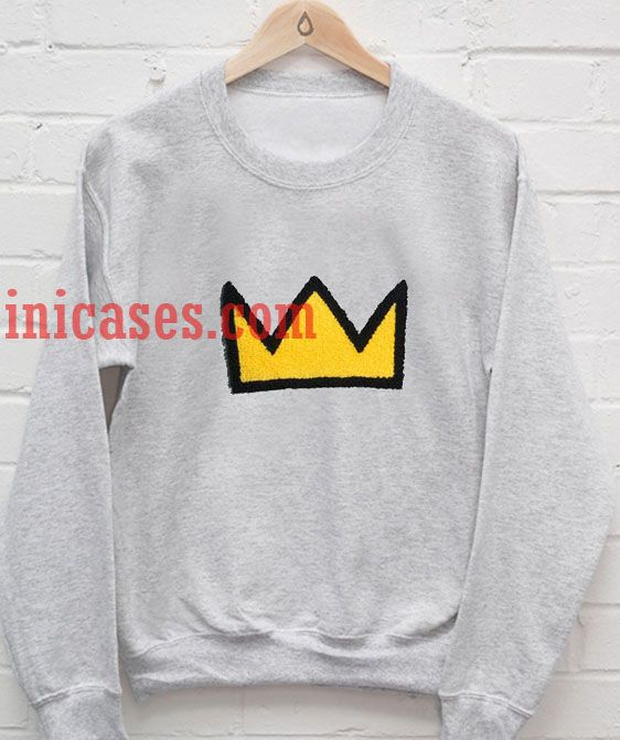 Yellow Crown Sweatshirt