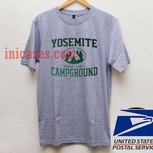 Yosemite Campground T shirt