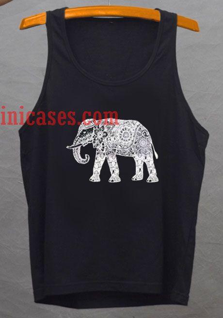 elephant tank top unisex