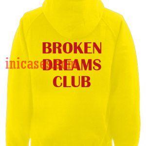 Broken Dreams Club Yellow Hoodie pullover