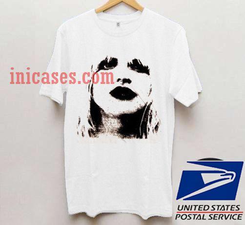 8ba8d279e Grunge Courtney Love T shirt